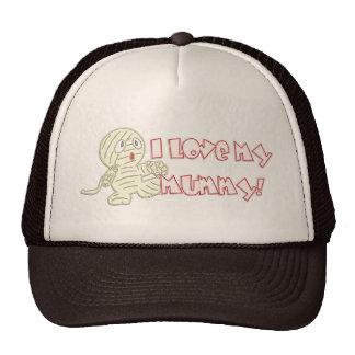 I Love My Mummy Cap