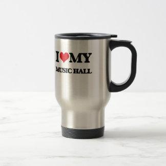 I Love My MUSIC HALL Mugs