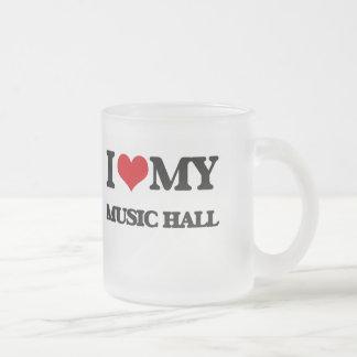 I Love My MUSIC HALL Coffee Mug