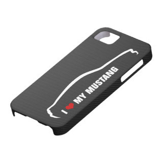 I Love My Mustang iPhone 5 Covers