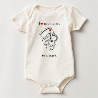 I love my Nanay Baby Bodysuit