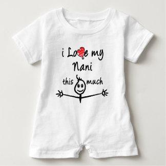 I love my Nani! (Grandma) Baby Bodysuit