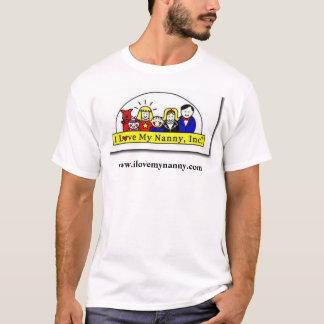I Love My Nanny T Shirt