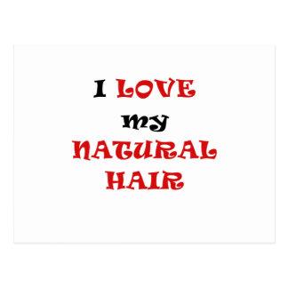I Love my Natural Hair Postcards