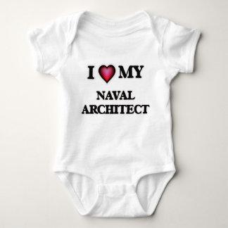 I love my Naval Architect Baby Bodysuit