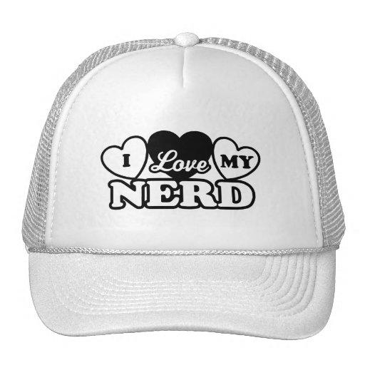 I Love My Nerd Mesh Hat