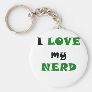 I Love my Nerd Key Chain