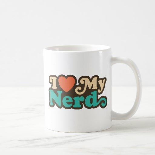 I Love My Nerd Mugs