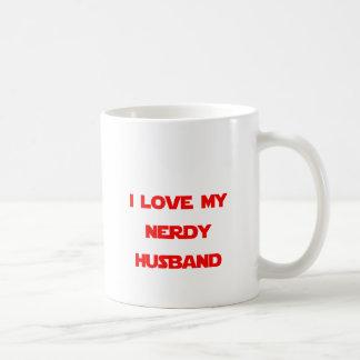 I Love My Nerdy Husband Coffee Mug