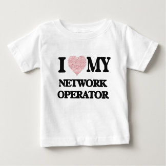 I love my Network Operator (Heart Made from Words) Tees
