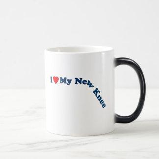 I Love My New Knee Morphing Mug
