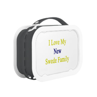 I Love My New Swede Family Yubo Lunchboxes