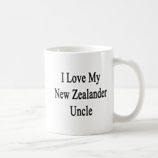 I Love My New Zealander Uncle Coffee Mug