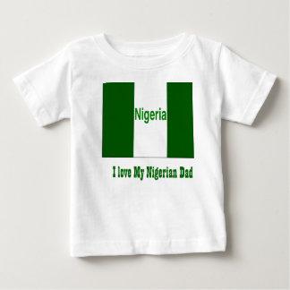 I love my nigerian dad baby T-Shirt