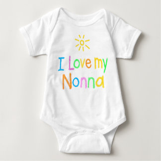 I Love my Nonna Baby Bodysuit