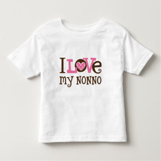 I Love My Nonno Toddler T-Shirt