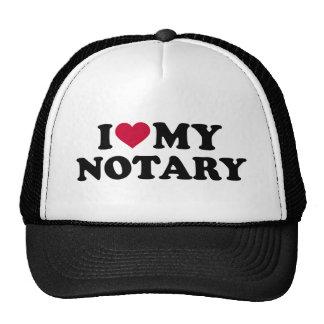 I love my notary cap