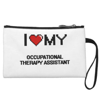 I love my Occupational Therapy Assistant Wristlet Clutch