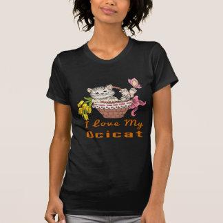 I Love My Ocicat T-Shirt
