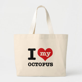 I love my octopus canvas bags
