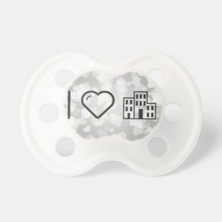 I Love My Offices Baby Pacifier