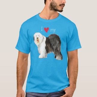 I Love my Old English Sheepdog T-Shirt