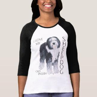 I Love My Old English Sheepdog T-Shirt