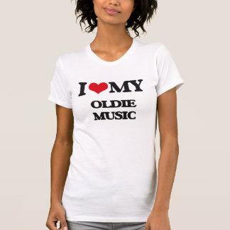 I Love My OLDIE MUSIC Tee Shirts