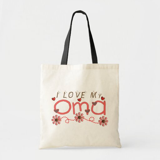 I Love My OMA Gifts Bags