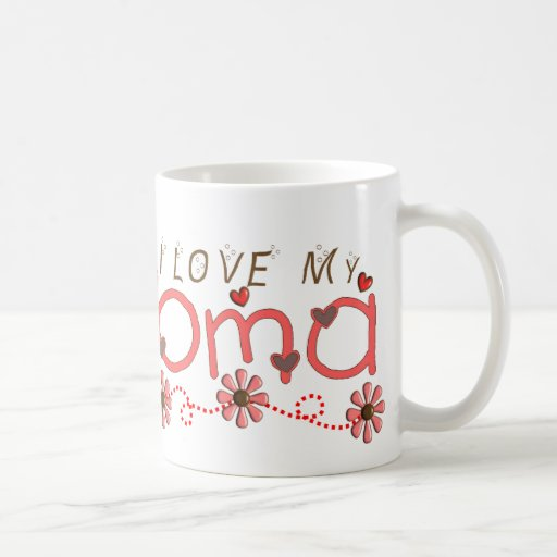 I Love My OMA Gifts Coffee Mug