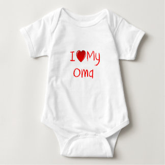 I Love My Oma Infant & Toddler T-Shirt