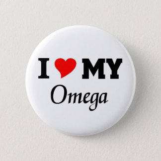I love my Omega 6 Cm Round Badge