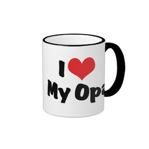 I Love My Opa Mug