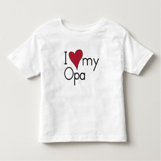 I love my Opa T Shirts