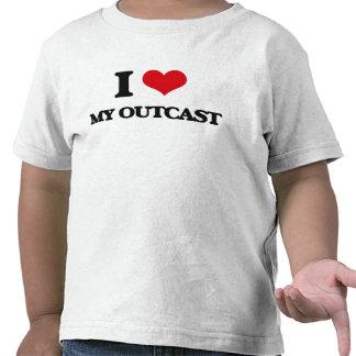I Love My Outcast Tee Shirt