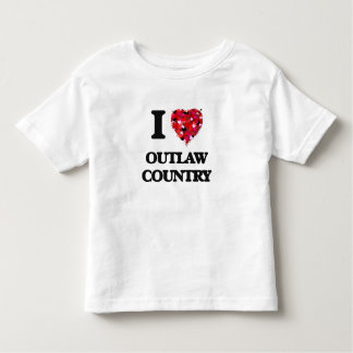 I Love My OUTLAW COUNTRY Tees