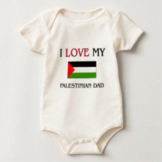 I Love My Palestinian Dad Baby Bodysuit