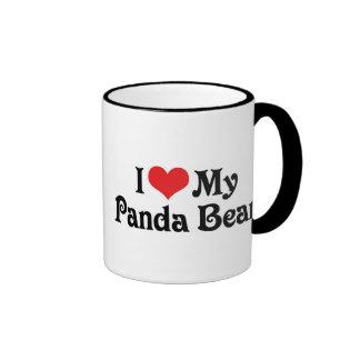 I Love My Panda Bear Mugs