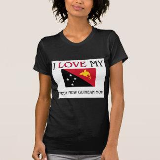I Love My Papua New Guinean Mom Shirts