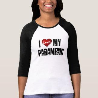 I  love   My Paramedic, Love Tshirt