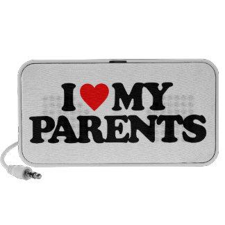I LOVE MY PARENTS TRAVEL SPEAKER