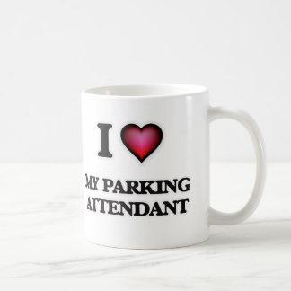 I Love My Parking Attendant Coffee Mug