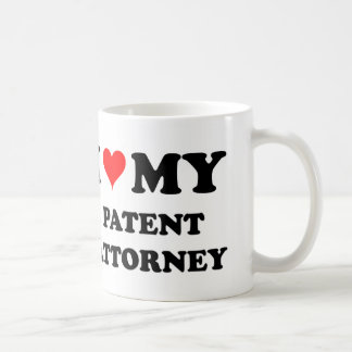 I Love My Patent Attorney Coffee Mug