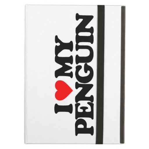 I LOVE MY PENGUIN iPad AIR CASES