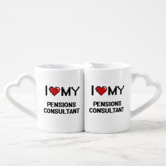 I love my Pensions Consultant Couples Mug