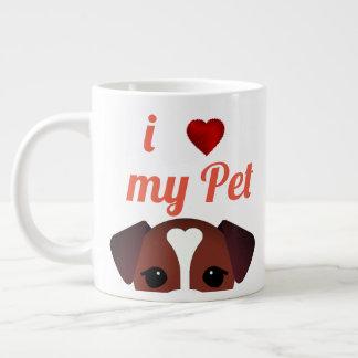 I love my Pet dog Coffee Mug