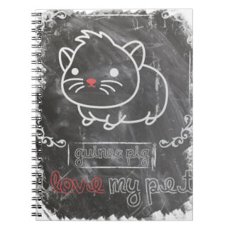 I Love My Pet Guinea Pig Animals Note Books