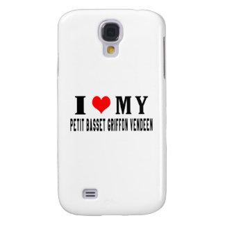 I Love My Petit Basset Griffon Vendeen Galaxy S4 Covers