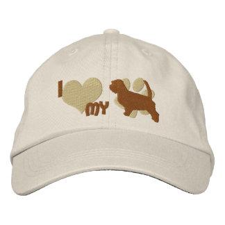 I Love my Petit Basset Griffon Vendeen Embroidered Hat