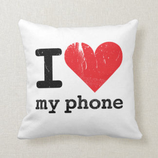 I Love My Phone 2-sided Pillow Cushions
